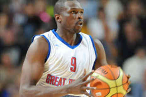 British Basketball League - Adult  Ticket to Choice of GB Mens Basketball Game - Save 55%
