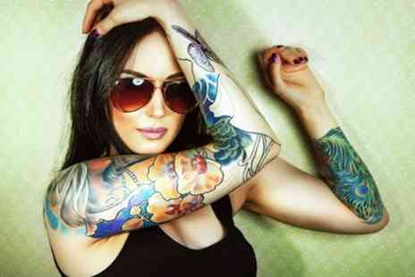 "Perfection - Three sessions of laser tattoo removal for an  8"" x 8"" area - Save 80%"