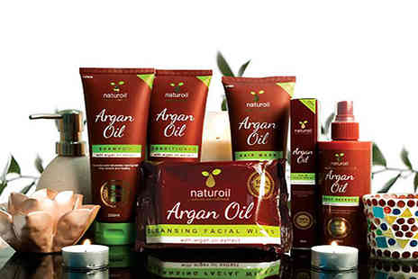 Little Secret Boutique - Six Piece Argan Oil Set - Save 70%