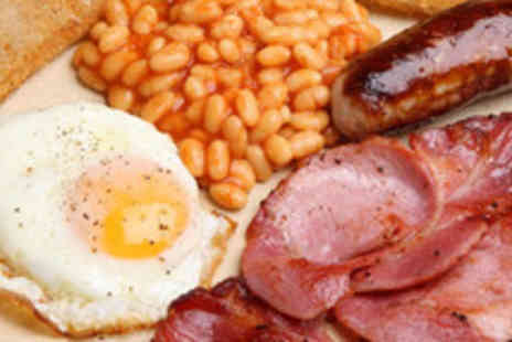 Cafe Med - Hangover Cure Breakfast with Drink for Two - Save 37%