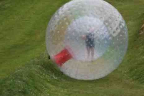 Leisure Matters - Sphering/zorbing, choosing between aqua or harness sphering for 2 - Save 58%