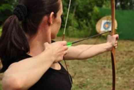 Leisure Matters - Choice of archery axe throwing or rifle shooting for 2 - Save 57%