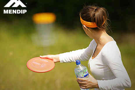 Mendip Outdoor Pursuits - Disc Golf All Day Pass for Couples - Save 58%