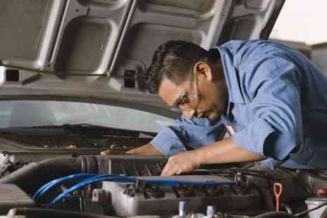 T E S Tyre and Exhaust Services - Car Air Con Service With Re-Gas  - Save 69%