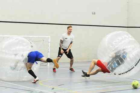 Excel Bubble Football - 60 Mins Bubble Football at a Choice of UK Venues - Save 16%