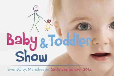 Baby and Toddler Show - Entry to Baby & Toddler Show  - Save 50%