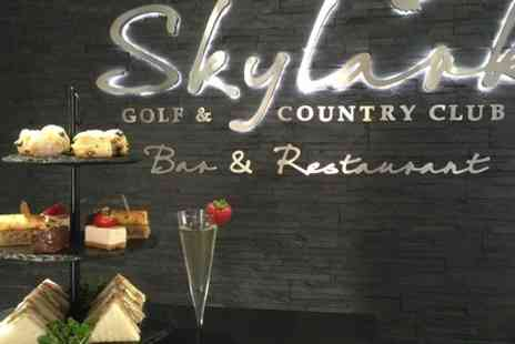 Skylark Golf and Country Club - Champagne Afternoon Tea For Two - Save 50%