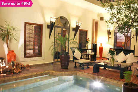 Riad Jardin des Reves - One night stay in Magical Marrakech - Save 49%