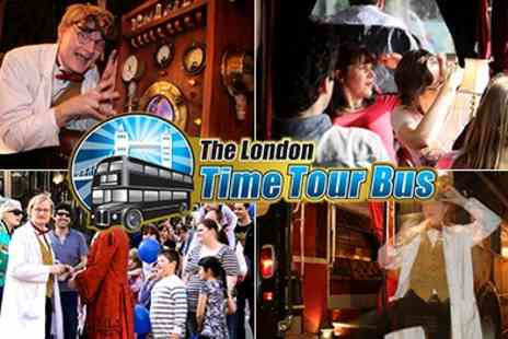 Time Tours - Tickets to Join Professor Quantum on an entertaining and insightful sightseeing tour  - Save 50%