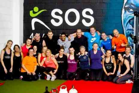 SOS Personal Training - One Month Unlimited Bootcamp and Gym Access - Save 88%