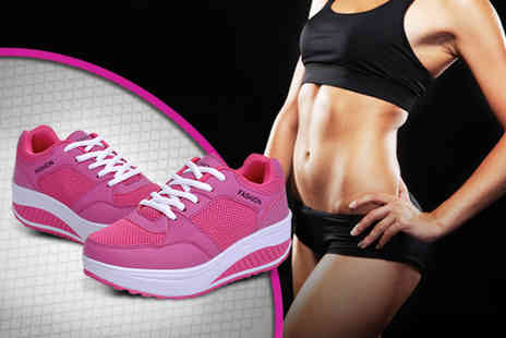 Suga Rush Love - Pair of toning trainers - Save 71%