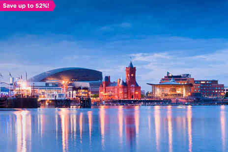 The Angel Hotel - One night stay for two in the Welsh Capital - Save 52%