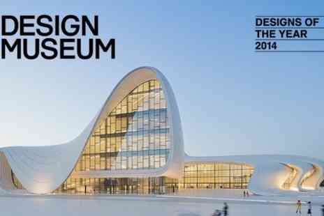 Design Museum - Adult Entry to Designs of the Year 2014 Exhibition   - Save 35%