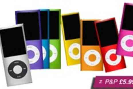 Marcus Accessories - 4th generation MP3/MP4 Player in a choice of nine colours - Save 78%