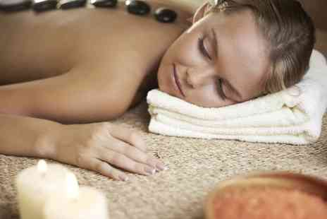 AD Injury Clinic - One Hour Hot Stone Back Massage - Save 68%