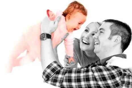 Kline Studios - Family Photoshoot For Up to 30 With Eight Prints and Two Photo Keyrings - Save 0%