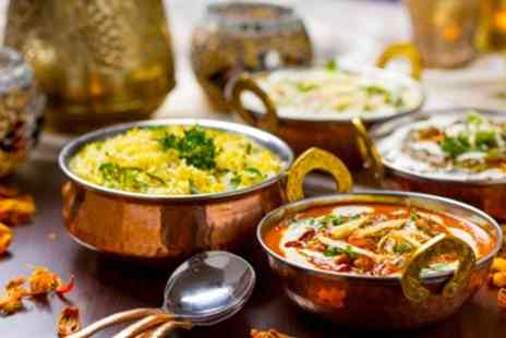 Regal Spice - Indian Meal With Sides and Beer For Two - Save 50%