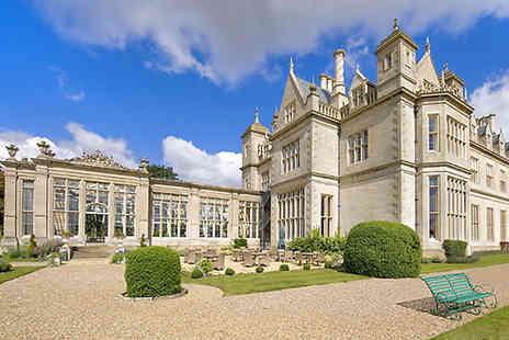 Stoke Rochford Hall  - Two night stay for two  with breakfast in Lincolnshire - Save 34%