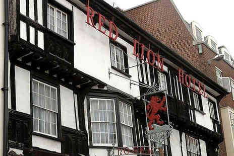 The Red Lion - Two night B&B with dinner in Colchester - Save 47%