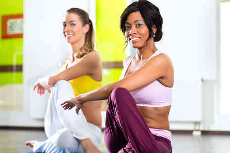 Hot Box Yoga - Hot yoga taster session for two - Save 63%