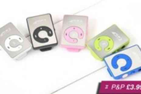 Gizmo Gadgets - Mini clip mirrored MP3 player including 8GB SD card - Save 88%