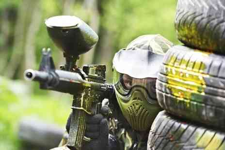 Unreal Paintball -  Full Day Access With 100 Balls Each For Two - Save 85%