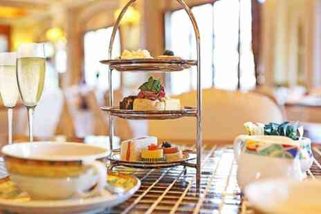 Living Well - Champagne Afternoon Tea With Spa Access For Two - Save 55%
