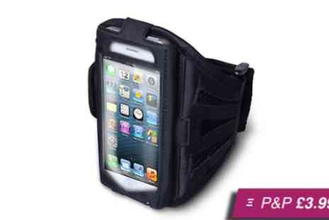 Eezee Lifestyle - Adjustable armband case for iPhone - Save 80%