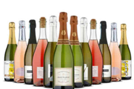 Naked Wines - Case of 12 Bottles of Sparkling Wine Including Champagne and Prosecco - Save 46%