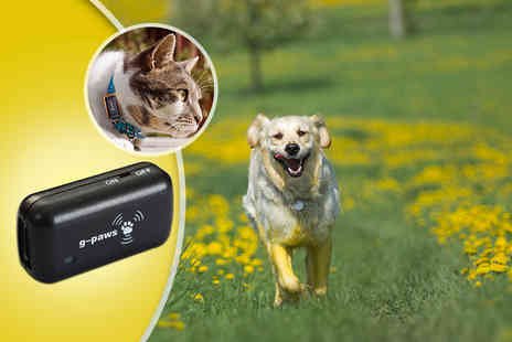 Velocity Outlet - G PAWS GPS pet tracker - Save 50%
