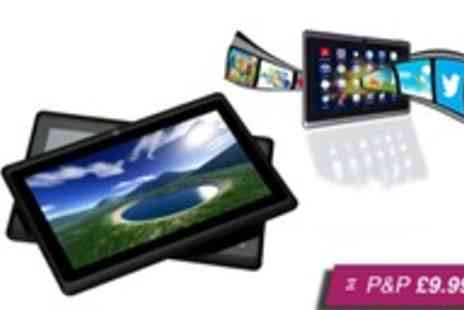 "Chimp Electronics -  7"" Android Tablet Lite in black plus accessories - Save 65%"