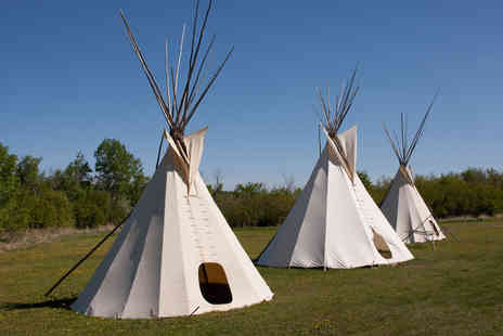 Tipi Adventure - Two night luxury tipi stay for 2  - Save 45%