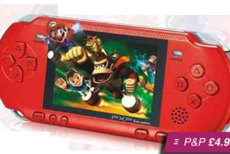 Fab Shopper - Retro handheld games console complete with over 100 games - Save 64%