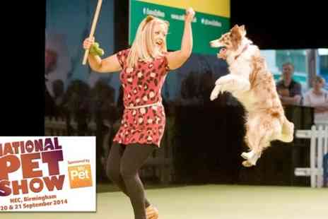 National Pet Show - Entry to The National Pet Show - Save 27%
