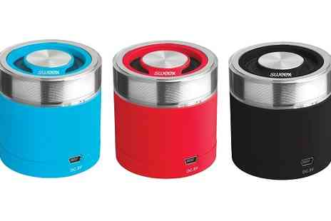 Deal Nation Direct - Sweex Bluetooth Portable Speaker Rock Buddy - Save 49%