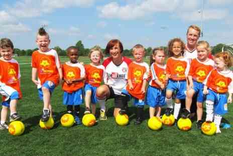 Challenger Sports - Four Pre school Football Sessions - Save 60%