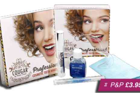 Cougar Beauty Products - Professional teeth whitening package - Save 85%
