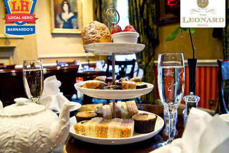 The Leonard Hotel - Afternoon Tea for Two  - Save 50%