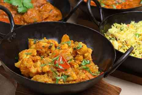 Nanpan - Indian meal for 2 including a main, rice and naan - Save 53%