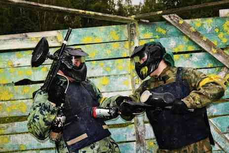 Unreal Paintball - Paintball session Plus lunch and 100 paintballs for 10 - Save 94%
