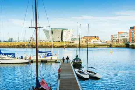 Lagan Boat Company - Belfast Harbour Boat Tour for 2 including Titanic Dock - Save 50%