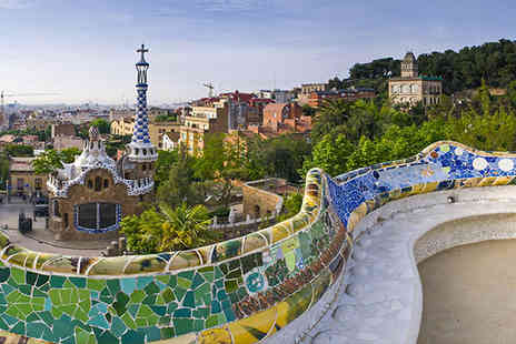 Jetline Holidays - Three night city break in Barcelona Stay  includes flights - Save 51%