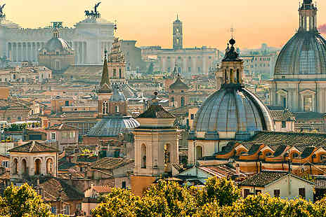 Jetline Holidays - Three nights at the Hotel Galles Rome includes flights and breakfast  - Save 50%
