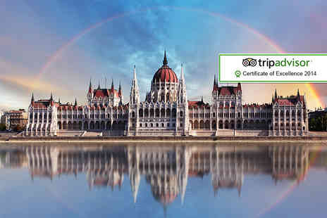 ClearSky Holidays - Two night 4 star Budapest break including flights, breakfast and spa bath entry - Save 40%