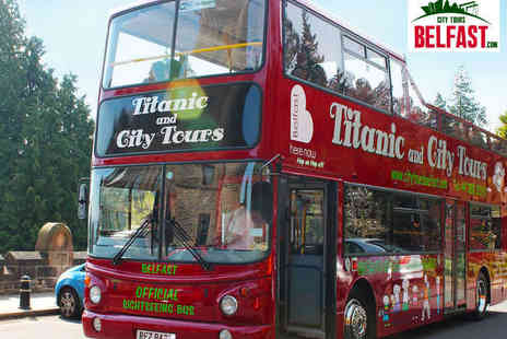 City Tours Belfast - Castle and Stormont Sightseeing Bus Tour for Two  - Save 48%