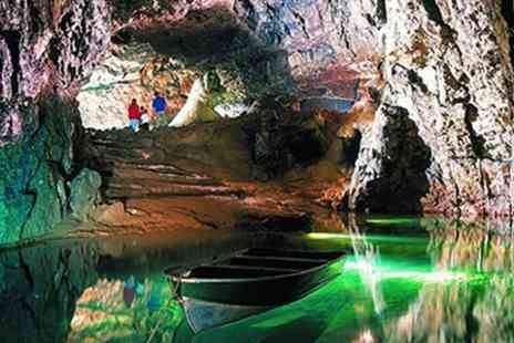 Wookey Hole Caves - Family Pass Wookey Hole Caves - Save 50%