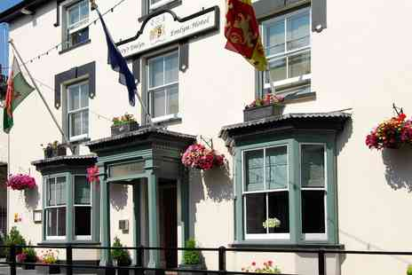 Gwestyr Emlyn Hotel - 18th Century Coaching Inn Break  - Save 51%