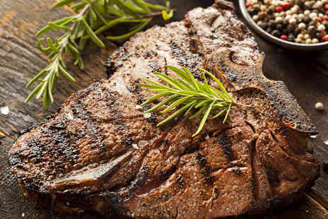 Rango's Hot Stone Kitchen - Hot Stone Steak Meal for Two with Sides and Drinks - Save 50%