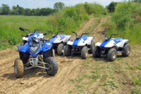 KJB Quadcross - Quad Biking Experience at The Hop Farm for One - Save 67%