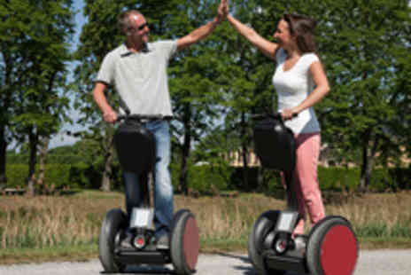 Zorbing Wales - Eight Speedy Segway Laps for One - Save 35%